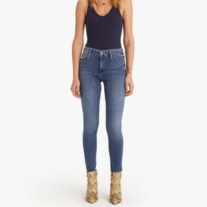 MOTHER The Looker Mid-Rise Skinny Jean in Groovin'